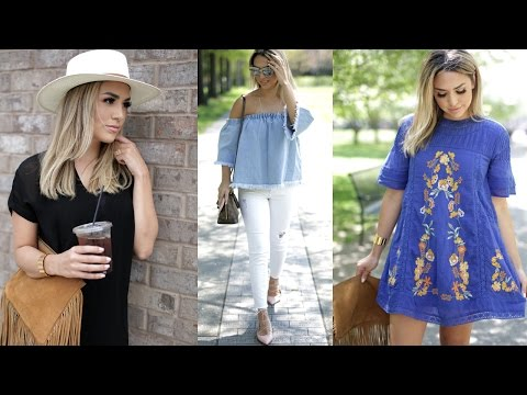 SPRING CLOTHING STAPLES! My Essentials for 2016!