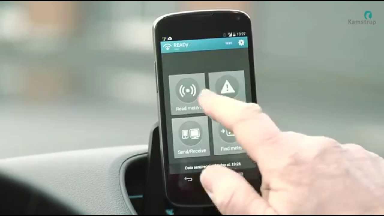 kamstrup ready wireless meter reading