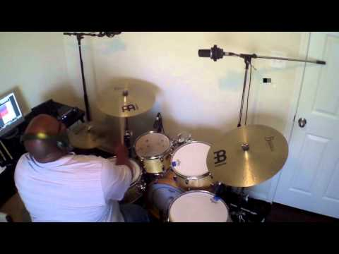 Shana Wilson - Press In Your Presence (Drum Cover)