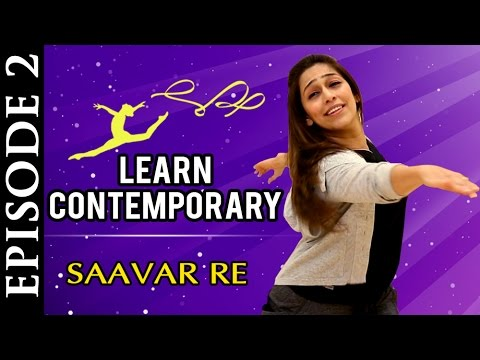 Learn Contemporary Dance | Marathi Song - Saavar Re | Easy Steps for Beginners | Dance with Phulwa