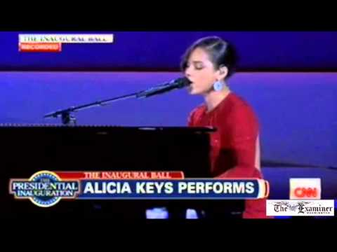 Alicia Keys reworks hit song for inauguration: 'Obama's on fire, hotter than a fantasy'