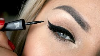 Step by step - nanošenje eyelinera♥