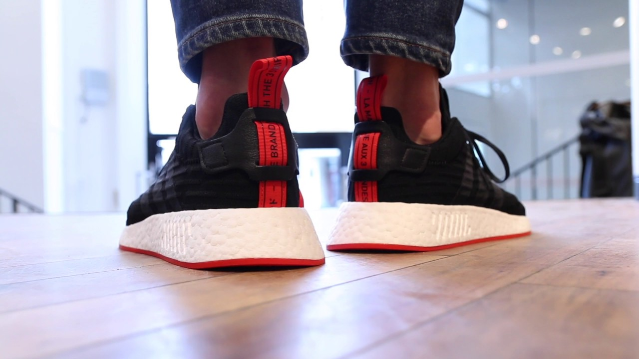 d9a453f7d19 NMD R2 RELEASE unisex - YouTube