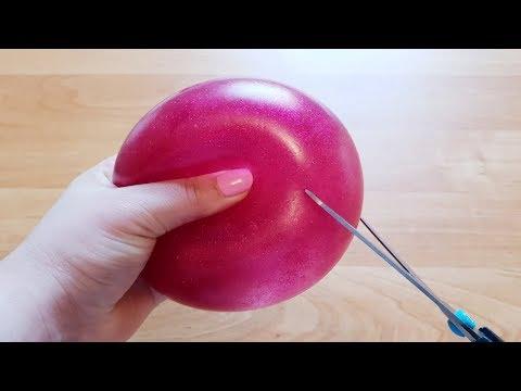 DÉCOUPER DES BALLE ANTI-STRESS SUPER SATISFAISANTE VIDEO!!