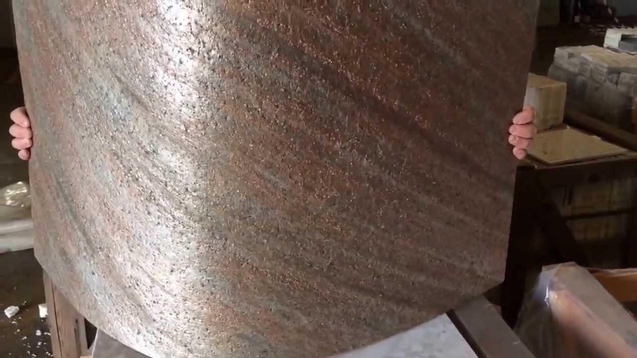 Flexstone la pietra flessibile e leggera youtube for Finta pietra per interni leroy merlin