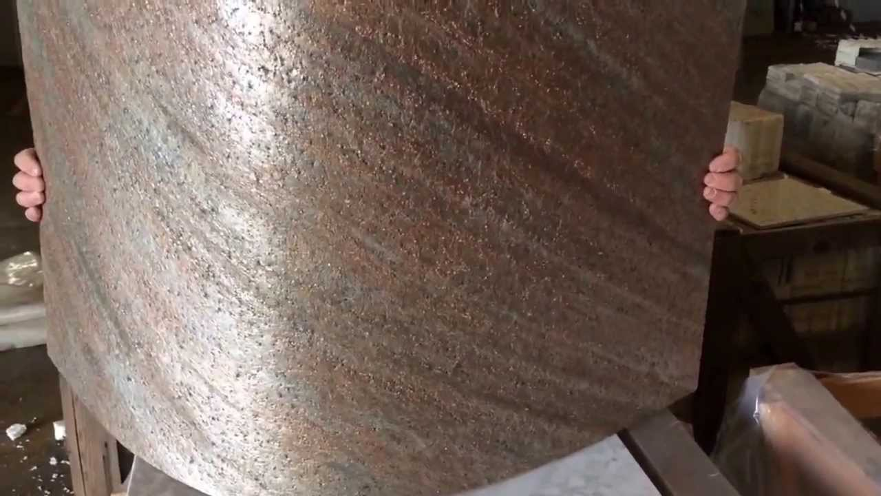Flexstone la pietra flessibile e leggera youtube Finta pietra per interni leroy merlin