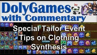 ➜ Wartune Guide - Special Tailor Event - Tips on Clothing Synthesis