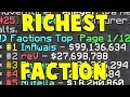 RICHEST FACTION ON THE SERVER?!    Minecraft FACTIONS #848