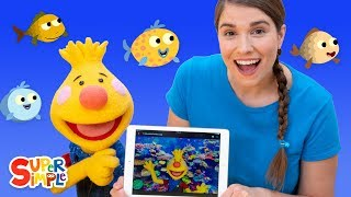 10 Little Fishies  | Songs For Kids | Sing Along With Tobee