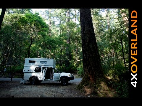 USA by 4-Wheel Camper. Part-1. San Fransisco to Death Valley