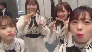 fns歌謡祭 #終わった直後 美味しかった   ※コメント・画像は755.