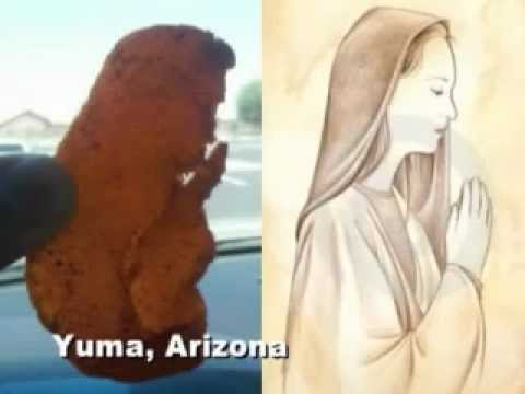 """""""Virgin"""" Mary spotted in dried mango"""