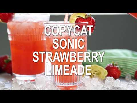 CopyCat Sonic Strawberry Limeade