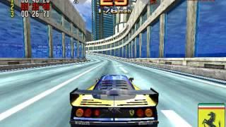 Scud Race/Sega Super GT gameplay