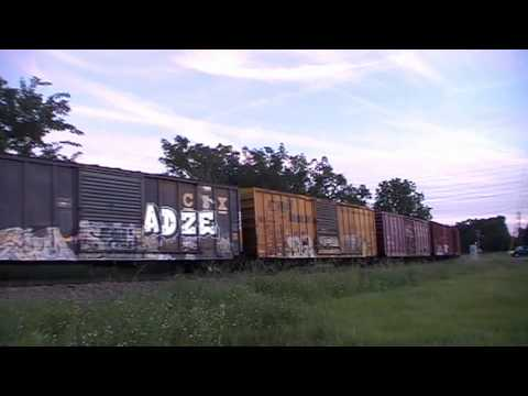 (HD) The hunt for Q613 with CSX,UP and NS power 10-14-2011