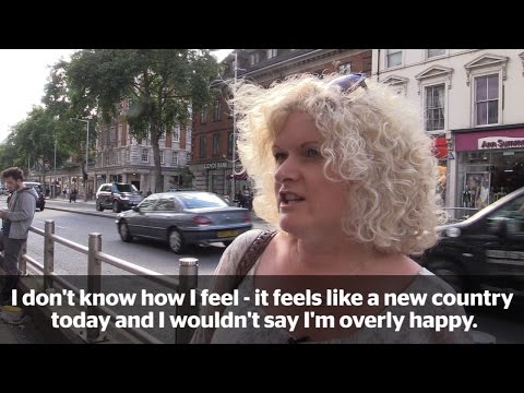 Londoners react to Brexit: