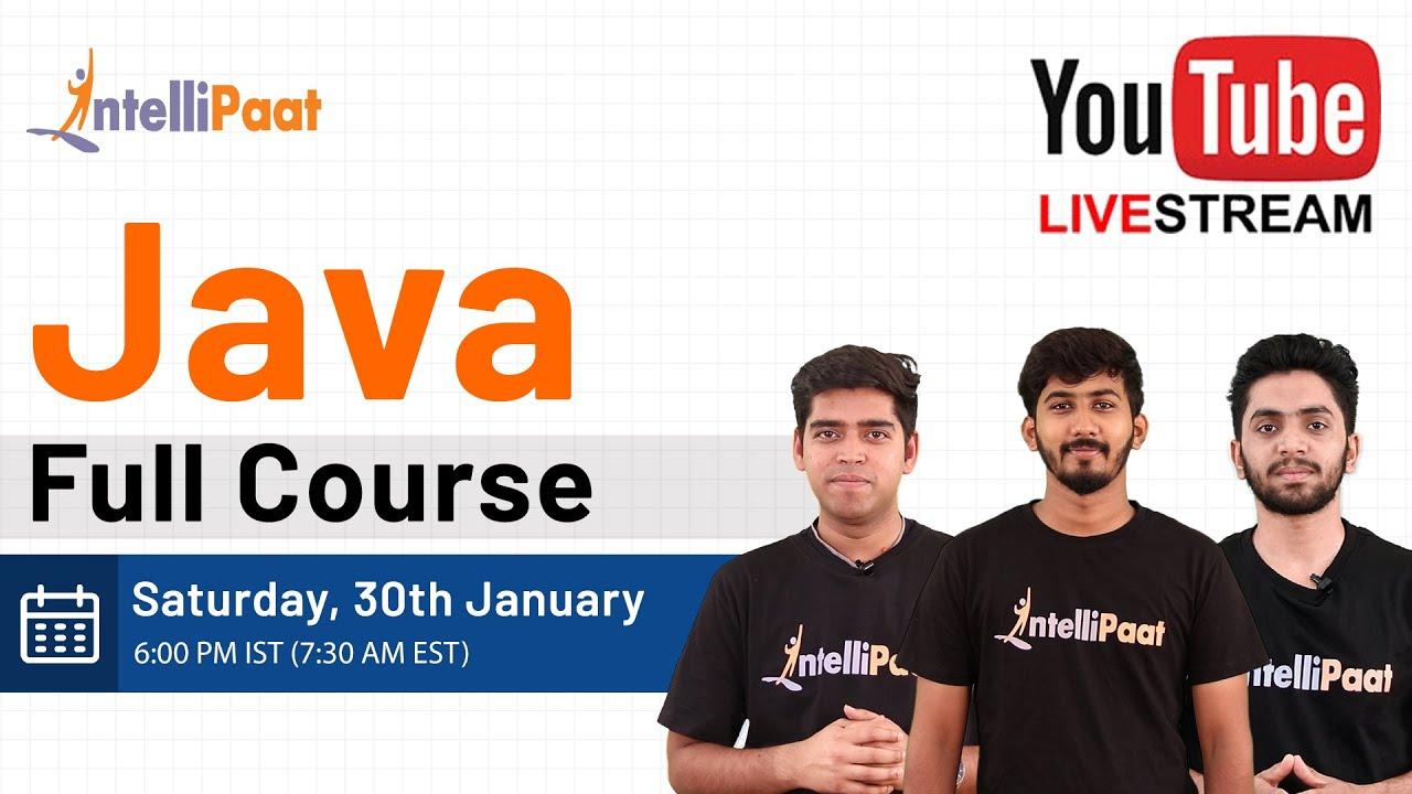 Java Tutorial | Java Course | Java For Beginners | Intellipaat