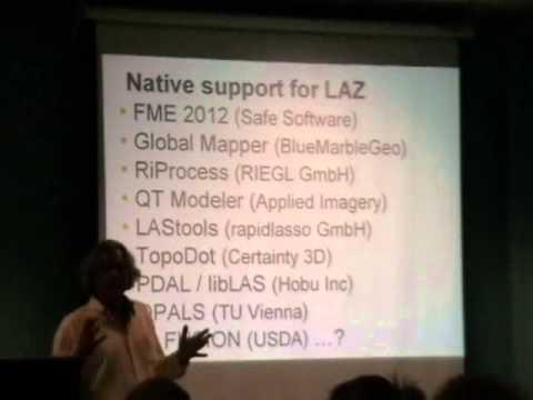 UNB Fredericton workshop on LiDAR Processing with LAStools