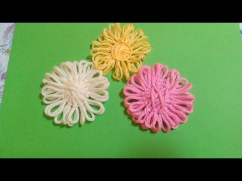 DIY Tutorial – How to Make Twine Flowers .
