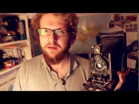 C.P. Goerz Compur Dogmar dry glass plate camera