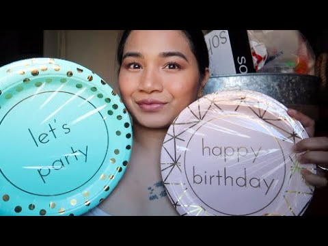 Birthday Party Decorations (Haul from Dollar Tree, 99 Cent Store & Ross)