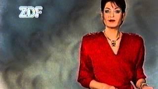 ZDF Ansage Sibylle Nicolai 5.11.1988