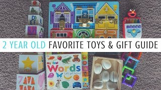 2 Year Old Favorite Toys & Gift Guide // Momma Alia