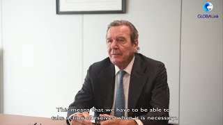 GLOBALink | Former German chancellor advises continued cooperation with China