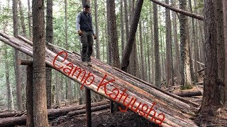 Welcome to Camp Katyusha | Remote Bushcraft Camp