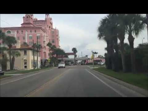 Beach Town Driving - St Pete Beach Florida USA