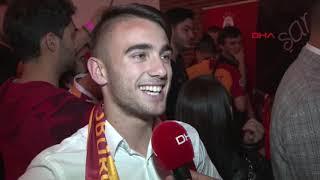 Yunus Akgün: Hedefimiz Şampiyonlar Ligi'nde en uca kadar gitmek