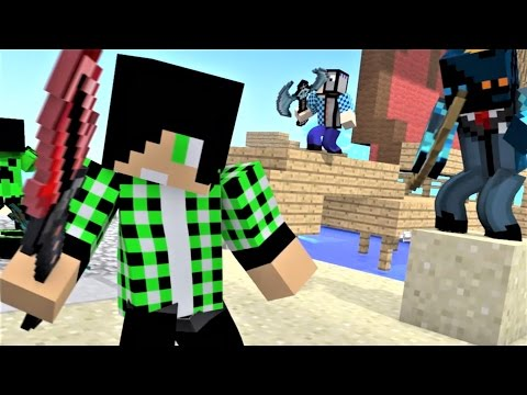 Minecraft Song and Minecraft Animation: Castle Raid 4