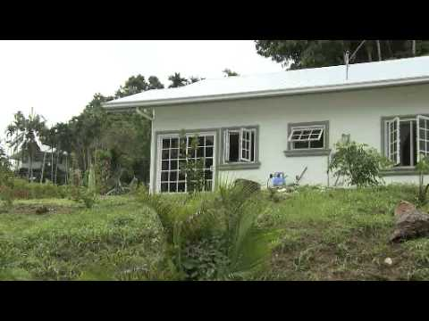 Energy efficient housing in Palau