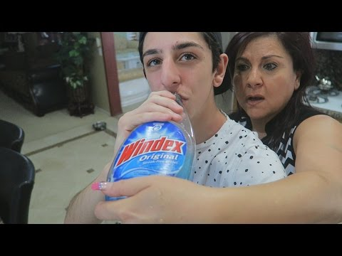 Thumbnail: GATORADE IN WINDEX BOTTLE PRANK!!