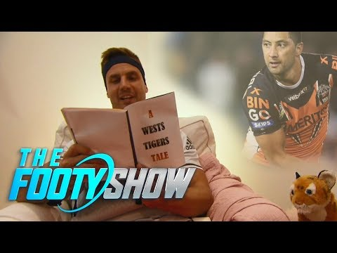 Beau gives some baby advice to a Wests Tigers legend Chris Lawrence  | NRL Footy Show 2018