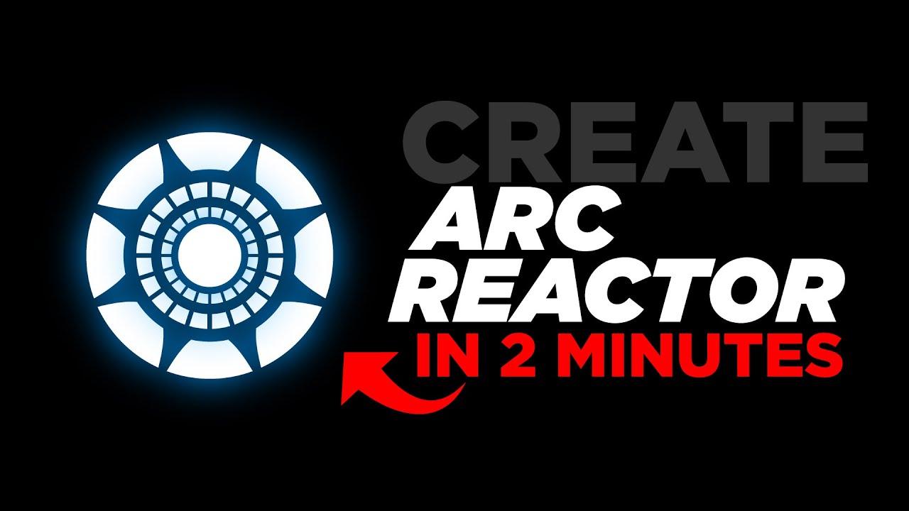 Create Arc Reactor in Illustrator in 2 Minutes! Hindi Tutorial