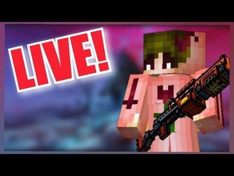 LIVE! New Traders Van! | Night Stream | Pixel Gun 3D Live Stream
