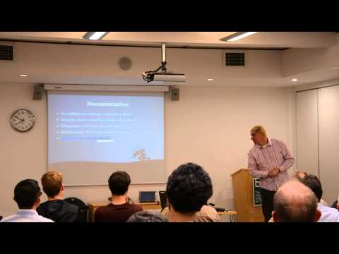 OSHUG 29 — Experiences from TVRRUG, Alan Wood.