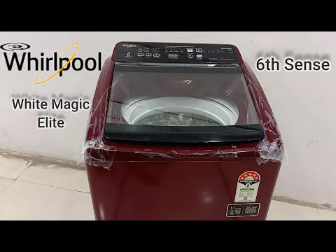 Whirlpool Fully Automatic Top Load 7.0 Kg Washing Machine | White Magic Elite