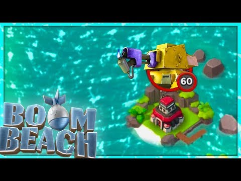 Boom Beach DEFEATING Imitation Game with ONLY Scorchers!