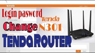 How To Change login password tenda router 2019 | Change WiFi Name and Password
