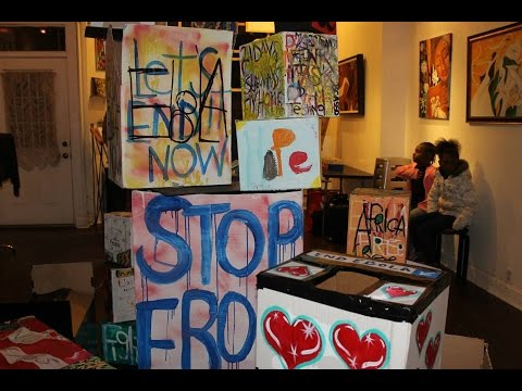 "ONELOVEVISION PRESENTS: PROJECT FREE/PROJECT AFRICA  ""The Ebola Box Art Project"""