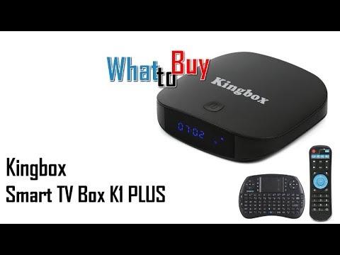 Kingbox K1 PLUS Smart TV Box Android 7 1 Ultima Generazione