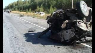 В Курганской области в ДТП пострадали 7 человек