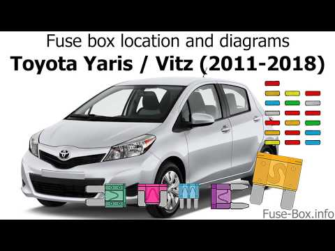 [DIAGRAM_38ZD]  Fuse box location and diagrams: Toyota Yaris / Echo / Vitz (2011-2018) -  YouTube | 09 Yaris Fuse Diagram |  | YouTube