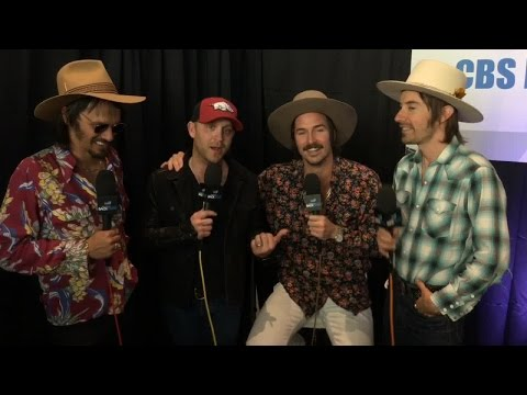 Justin Moore Interviews Midland Backstage at the ACMs