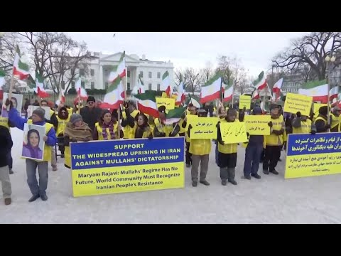 Iranian Americans rally at White House