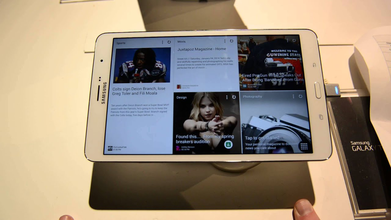 Hands-on with the Samsung Galaxy TabPRO 8 4 | Android and Me