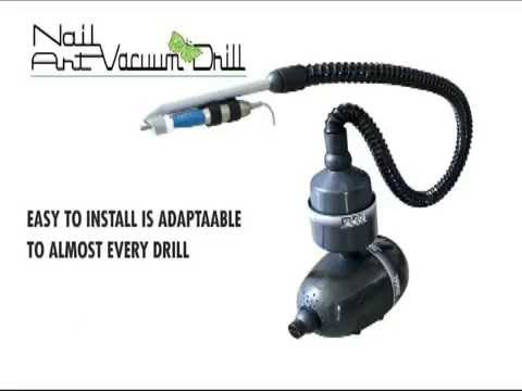 Vacuum Nail Drill