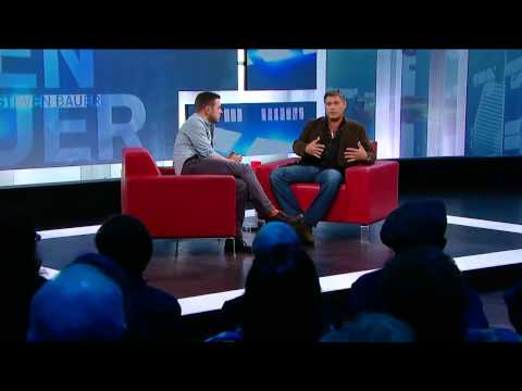 Steven Bauer On George Stroumboulopoulos Tonight: INTERVIEW